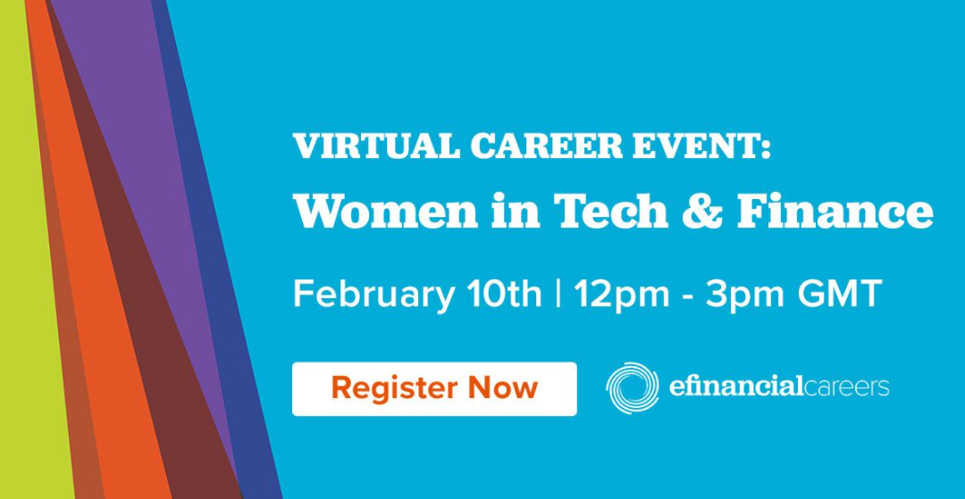 Virtual Event: Women in Tech and Finance