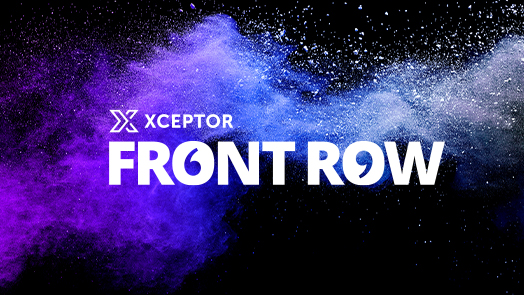 Customer Webinar Series – Xceptor Front Row